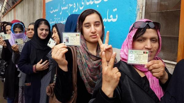 Women risk death to vote in Afghanistan on the same day West Australian's complain about 'having to vote again'.